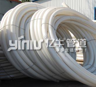 聚乙烯白管